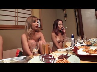 Japanese smoking fetish drunk girls 6