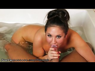 Pov nuru massage with step brother