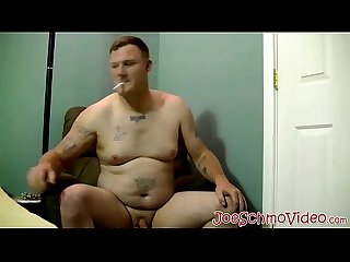 Cute naughty joe blows chezs fat white dick for jizz dump