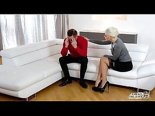 Kinky inlaws squirting ukrainian blonde stepmom fucks stepdaughter s boyfriend