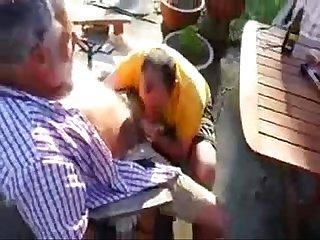 Careca mamador de coroas