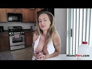 Blonde Busty Mom Knows How To Calm s.'s Nerves- Natasha Starr