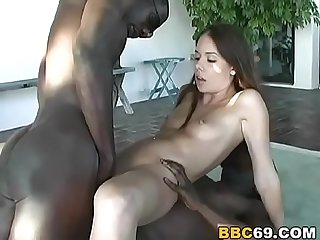 Aimee Tyler Tries Double Penetration With BBC