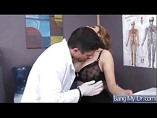 (yurizan beltran) Horny Patient Take It Hard From Doctor movie-30