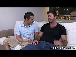 Married man gets hot gay blowjob 1 by marriedbf