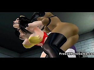 Sexy 3d wonder woman getting fucked by the joker