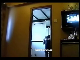 Two Desi call girls from mumbai with rich man in hotel room lpar new rpar