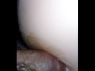 Micro penis fucking pussy ass of a sex toy and cum shot