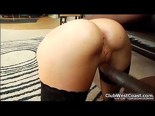 Busty brunette babe gets her cunt fucked