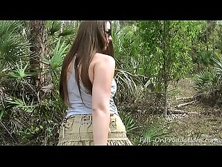 Milf gets facial in the woods madisin lee in mom s 21st birthday surprise