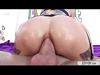 Big ass chick Anna bell peaks gets asshole fucked hard