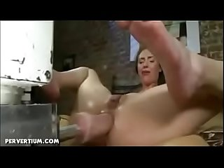 Fuck machines squirting orgasms compilation