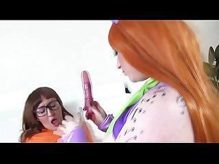 Scooby Doo pardoy lesbians